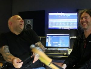 I worked a lot with David Kox in KoxRamak studios. Allways a good hang.