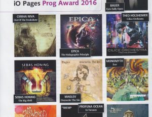 CILICE ORCHESTRA nominated BEST ALBUM iOPages PROG AWARD 2016!